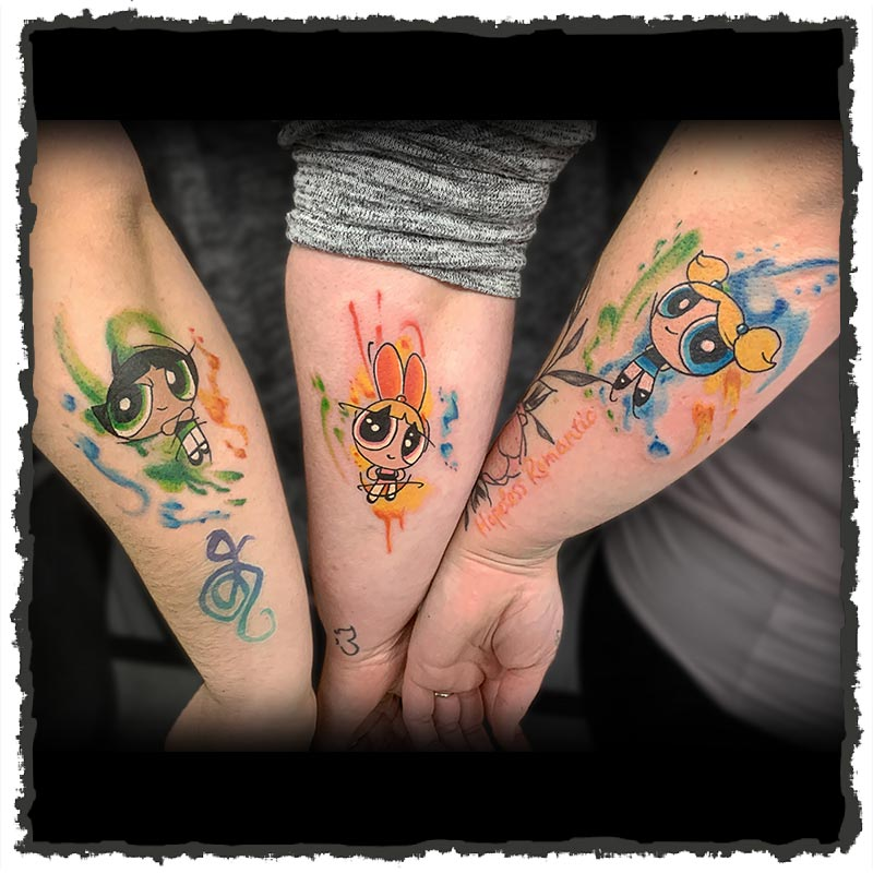 Tattoo by Lexx of the Powerpuff Girls